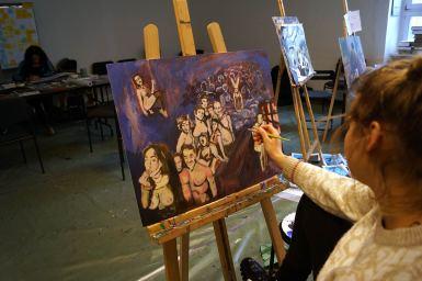 Der Workshop wurde für fortgeschrittene Teilnehmer veranstaltet.