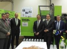 Feierliche Übergabe der neuen Engel-Maschine an das TGM in Wien. | Foto: K.Sochor