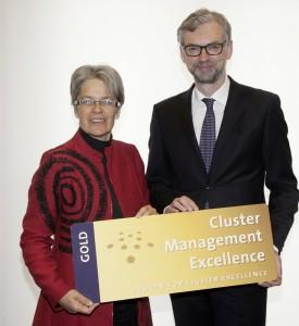 Dr. Petra Bohuslav und ihr oberösterreichischer Amtskollege Mag. Dr. Michael Strugl | Foto: Land Tirol/Die Fotografen