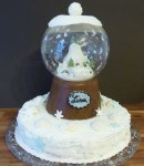 Schneekugel-Torte