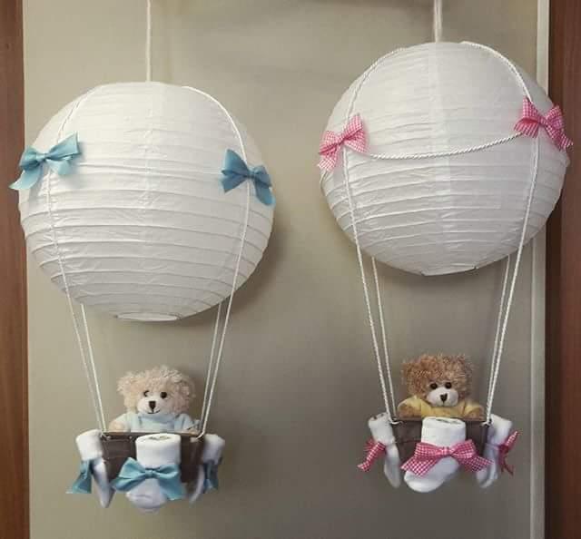 Baby Lampe Ballon Geschenk