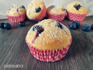 Blaubeermuffins – so schmeckt der Sommer!