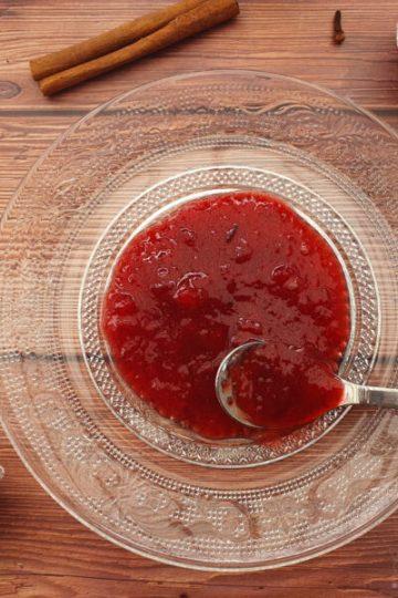 Rum-Pflaumenkompott Zimt Anis