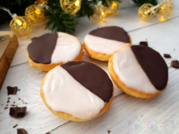 Mini-Amerikaner Zuckerguss Schokolade