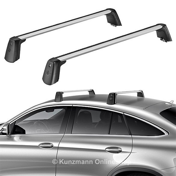 roof rack base support rail carrier gle coupe c292 genuine mercedes benz