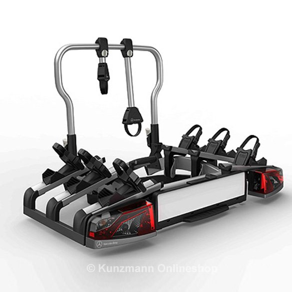 rear bicycle carrier rack for towing for 3 bikes folding three bikes genuine mercedes benz