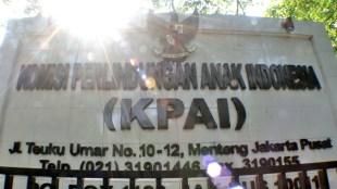 Kantor pusat KPAI di Jl Teuku Umar, Jakarta (stock)