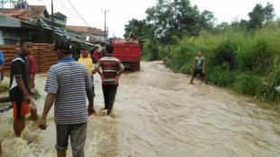 Banjir (ilustrasi)