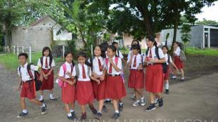 Ilustrasi pelajar sekolah dasar (KM STOCK)