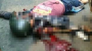 Korban kecelakaan di Tugu Kujang, Senin 11/7 (dok. KM)