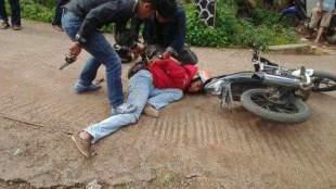 Aksi anggota kepolisian Cibiuk menangkap pelaku curanmor saat hendak melarikan diri (dok. KM)