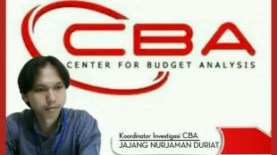 Jajang Nurjaman, Koordinator Investigasi Center For Budget Analysis (CBA) (dok. KM)