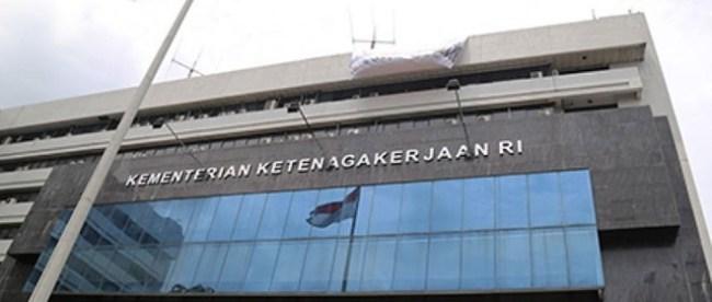 Kantor pusat Kementerian Ketenagakerjaan (Kemnaker) Indonesia (stock)