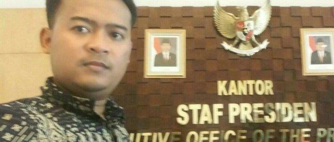 Aktivis antikorupsi, Egi Hendrawan (dok. KM)