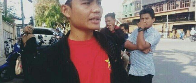 Eri Ezi, Ketua EK-LMND Kota Lhok Seumawe dan Aceh Utara