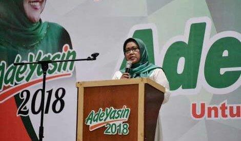 Calon Bupati Bogor, Ade Munawaroh Yasin (dok KM)