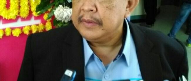 Direktur Utama PDAM Tirta Pakuan Kota Bogor Deni Surya Senjaya saat wawancara usai acara HUT PDAM Kota Bogor ke 41 (Dok. KM)