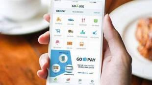 Ilustrasi penggunaan Go-Pay (stock)