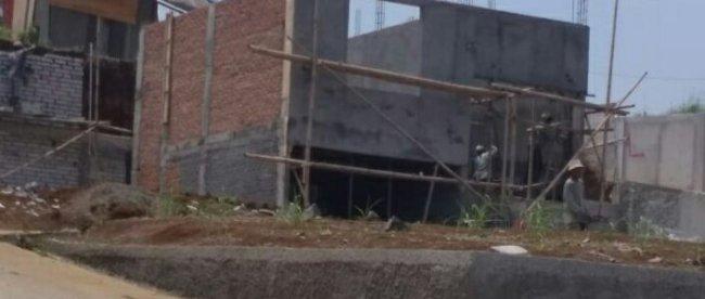 Pembangunan Griya Abdi Cilendek yang masih berlangsung, Kamis 13/9/2018 (dok. KM)