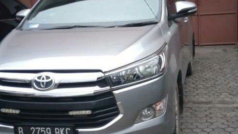 Mobil milik Hendra, nasabah Maybank Finance yang mengeluhkan pelayanan perusahaan pendanaan itu (dok. KM)
