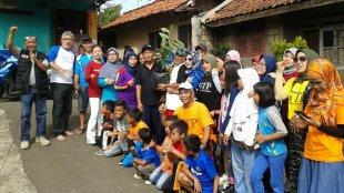 GTP Ke-200 bersama warga Gang Mangga RW09 Kelurahan Semplak, Minggu 16/12/2018 (dok. KM)