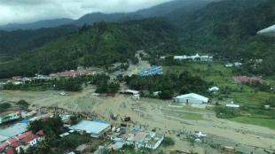 Banjir Bandang di entani, Jayapura (dok. BMKG)