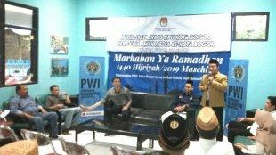 Media Gathering KPUD Kota Bogor Bersama Awak Media Se-Kota Bogor, Minggu 26/5/2019 (dok. KM)