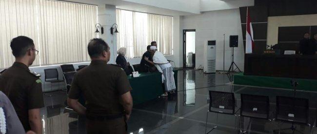 Habib Bahar Bin Smith usai terima putusan Hakim di Bandung, 9/7/2019 (dok. KM)