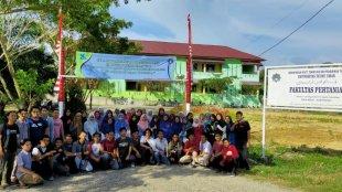 Panitia Kemah Bakti Tani Fakultas Pertanian Universitas Teuku Umar 2019 (dok. ist)
