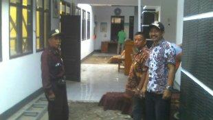 Kepala Desa Belendung dan LPM Desa Belendung, Kecamatan Cibogo, Subang (dok. KM)