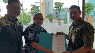 PERKHAPPI menerima SK dari Kementerian Ketenagakerjaan RI, Rabu 20/11/2019 (dok. KM)