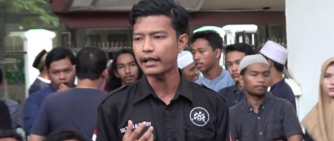 Aktivis mahasiswa Sulthan Alfaraby (dok. KM)