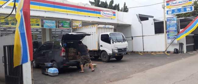 Gerai Minimarket Indomaret di Jl. KH. Mas Mansyur, Kelurahan Bekasi Jaya, Bekasi Timur (dok. KM)