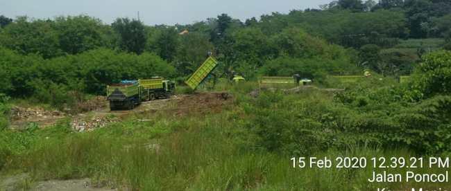 Aktivitas Galian C yang diduga tidak berizin di Kelurahan Tanah Sareal, Kota Bogor (dok. KM)