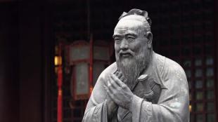 Patung Confucius di Shanghai, Tiongkok (dok. britannica.com)