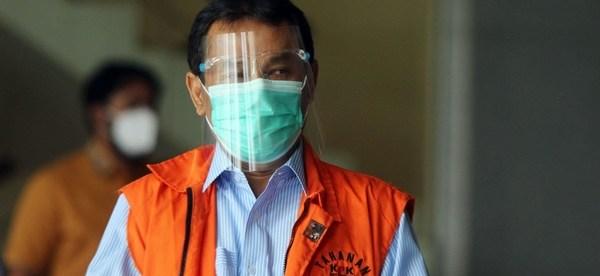 Rachmat Yasin saat berada di Rutan Guntur KPK (dok. Hari Setiawan Muhammad Yasin/KM)