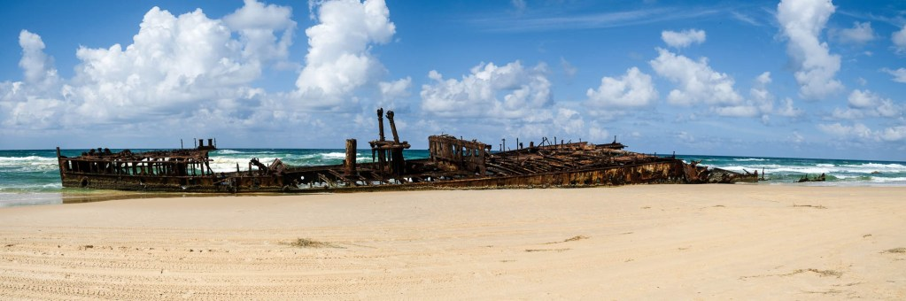 S.S. Maheno Auf Fraser Island