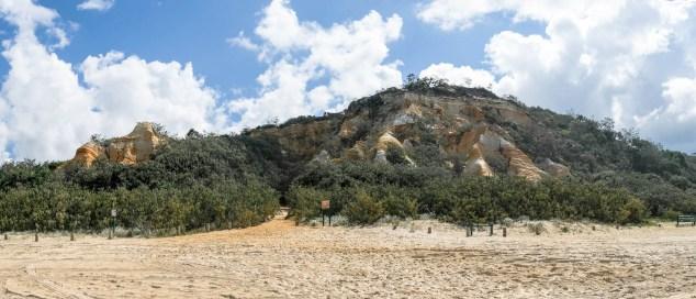 Pinnacles Auf Fraser Island