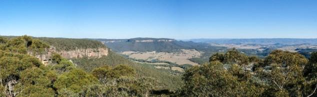 Sicht Auf Mt Solitary