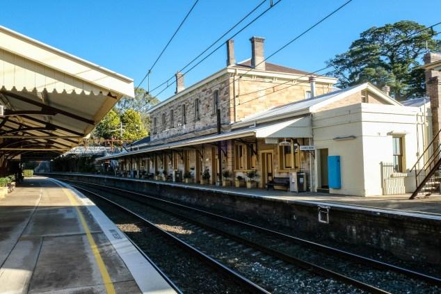 Mt Victoria Bahnhof