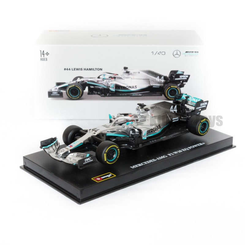 F1 Mercedes AMG Petronas W10 EQ Hamilton
