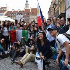 Goście z Filipin rozświetlili miasto