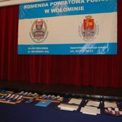 Uroczystości Święta Policji w wołomińskiej Komendzie