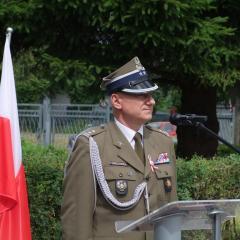 Wojskowe i oficjalne obchody, czyli uroczysta zbiórka w wyszkowskim WKU