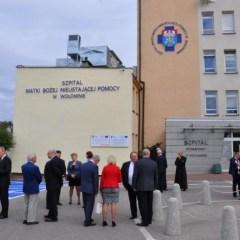 Szpital w Wołominie otrzymał imię oraz lądowisko dla śmigłowców
