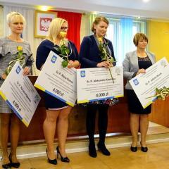 Burmistrz Krzysztof Chaciński docenił Nauczycieli…