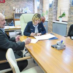 Podpisano pierwszą umowę w sprawie dofinansowania na wymianę pieca
