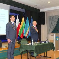 Serock uczcił 100. rocznicę odzyskania Niepodległości i święto Samorządu  Terytorialnego uroczystą sesją Rady Miejskiej