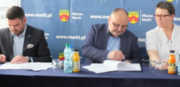 Największa samorządowa inwestycja drogowa  w dziejach Marek