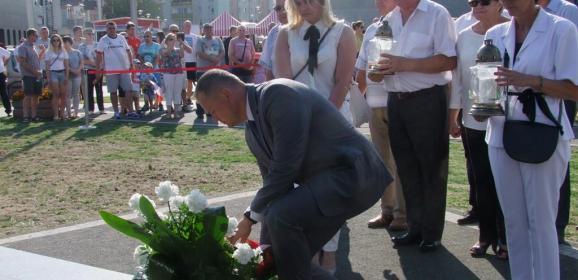 Wyszków upamiętnił 74. rocznicę wybuchu Powstania Warszawskiego